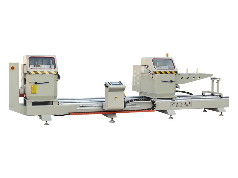 máy cắt  2 đầu tự động hãng Zhenfei